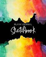 Blank Journal Sketchbook