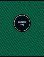Camping Log (Logbook, Journal - 126 Pages, 8.5 X 11 Inches)