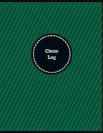 Chess Log (Logbook, Journal - 126 Pages, 8.5 X 11 Inches)