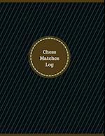 Chess Matches Log (Logbook, Journal - 126 Pages, 8.5 X 11 Inches)