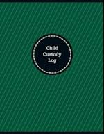 Child Custody Log (Logbook, Journal - 126 Pages, 8.5 X 11 Inches)