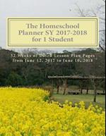 The Homeschool Planner Sy 2017-2018 for 1 Student
