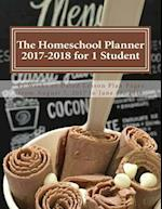 The Homeschool Planner 2017-2018 for 1 Student