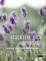 Essential Oils Journal (Field of Lavender)