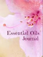 Essential Oils Journal (Pink Flower)