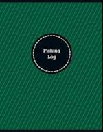 Fishing Log (Logbook, Journal - 126 Pages, 8.5 X 11 Inches)