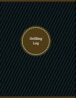 Grilling Log (Logbook, Journal - 126 Pages, 8.5 X 11 Inches)