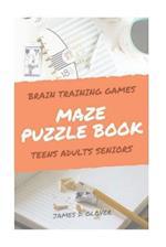Maze Puzzle Books