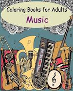 Coloring Books for Adults - Music