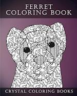 Ferret Colouring Book for Adults