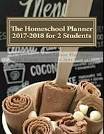 The Homeschool Planner 2017-2018 for 2 Students