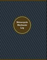 Motorcycle Mechanic Log (Logbook, Journal - 126 Pages, 8.5 X 11 Inches)