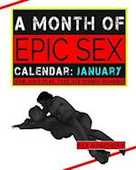 A Month of Epic Sex Calendar