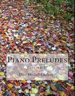 Piano Preludes Volume 37