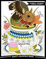 Squirrel Adult Coloring Books