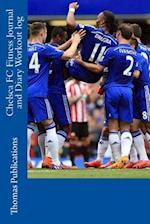 Chelsea FC Fitness Journal and Diary Workout Log