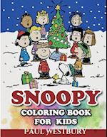 Snoopy Coloring Book for Kids