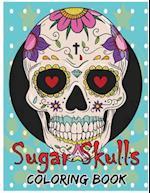 Sugar Skulls Coloring Book