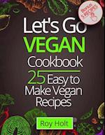 Lets Go Vegan Cookbook
