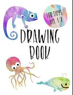 Drawing Book for Boys Age 12
