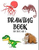 Drawing Book for Boys Age 6