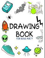 Drawing Book for Boys Age 7