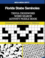 Florida State Seminoles Trivia Crossword Word Search Activity Puzzle Book