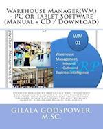 Warehouse Manager(wm) - PC or Tablet Software (Manual + CD / Download)