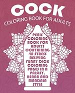 Cock Coloring Book for Adults