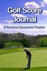 Golf Score Journal