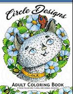 Circle Design Adult Coloring Book