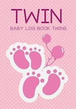Baby Log Book Twins Twin