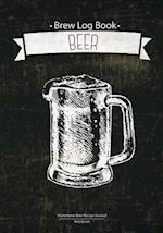 Brew Log Book - Homebrew Beer Recipe Journal
