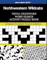 Northwestern Wildcats Trivia Crossword Word Search Activity Puzzle Book