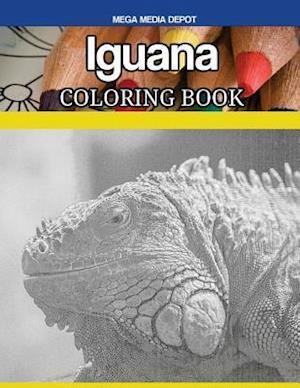 Iguana Coloring Book