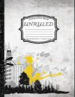 Unruled Composition Book