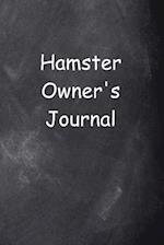 Hamster Owner's Journal Chalkboard Design