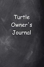 Turtle Owner's Journal Chalkboard Design