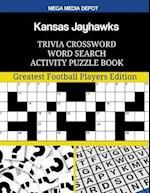 Kansas Jayhawks Trivia Crossword Word Search Activity Puzzle Book
