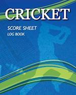 Cricket - Score Sheet Log Book