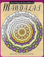 Flower Mandala Adults Coloring Books