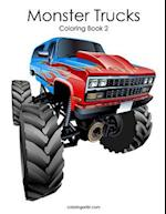 Monster Trucks Coloring Book 2
