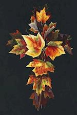 Autumn Leaf Cross