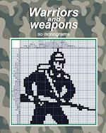 Warriors and Weapons - 50 Nonograms