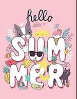Hello Summer (Journal, Diary, Notebook for Flower Lover)