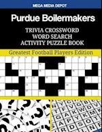 Purdue Boilermakers Trivia Crossword Word Search Activity Puzzle Book