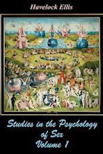 Studies in the Psychology of Sex Volume 1