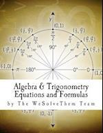 Algebra & Trigonometry Equations and Formulas