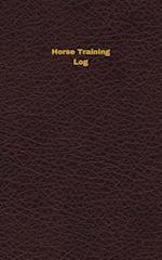 Horse Training Log