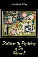 Studies in the Psychology of Sex Volume 3
